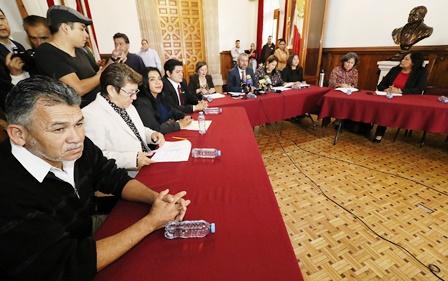 PRESENTA BANCADA DE MORENA AGENDA DE SU PRIMER AÑO LEGISLATIVO. Noticias en tiempo real