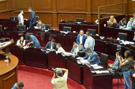 Diputados locales de oposición criticaron instalación de militar al frente de la Guardia Nacional. Noticias en tiempo real