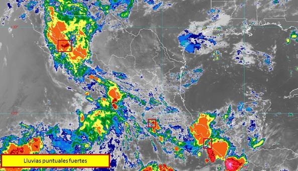 Quinto ciclón tropical de la temporada se ubica en el Océano Pacífico. Noticias en tiempo real