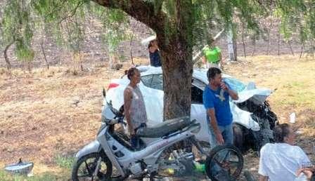 Fuerte choque deja cuatro muertos y cinco heridos en Villamar. Noticias en tiempo real