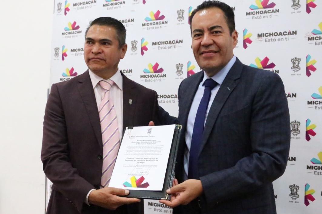 Marco Antonio Hernández es el nuevo Comisionado de Búsqueda de Desaparecidos. Noticias en tiempo real