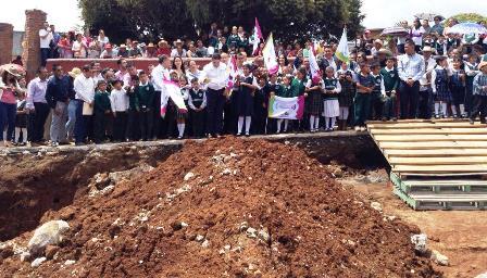 Construcción de escuela afectada por sismo en Ziráhuato costará 6 mdp. Noticias en tiempo real