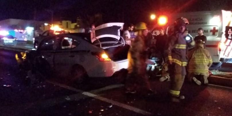 Carambola vehicular deja 4 heridos en la carretera Morelia-Salamanca. Noticias en tiempo real