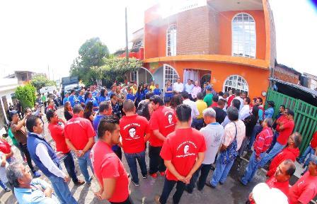 Recolectores del Estado de Michoacán inauguran sus oficinas. Noticias en tiempo real