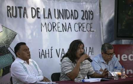 Servidores emanados de MORENA  que no se ciñan a principios, serán denunciados para que el partido proceda . Noticias en tiempo real