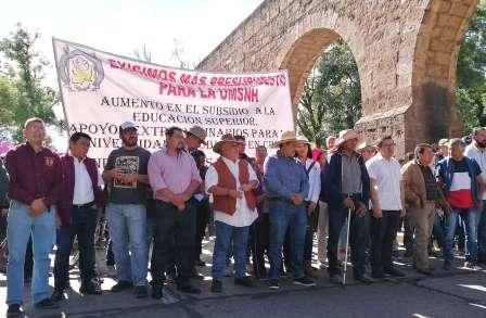 Marcha Frente Cívico Social en defensa del salario, ante previsible incumplimiento. Noticias en tiempo real