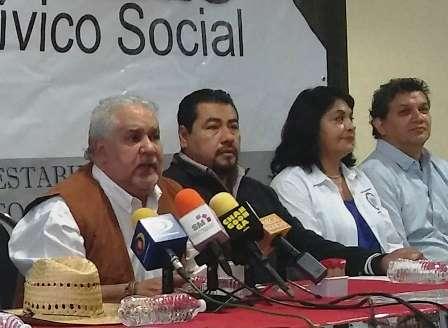 Convoca Frente Cívico Social a sindicatos integrar por la defensa del salario del pueblo michoacano. Noticias en tiempo real