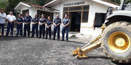 Arrancó la construcción de la nueva Estación de Bomberos de Morelia. Noticias en tiempo real