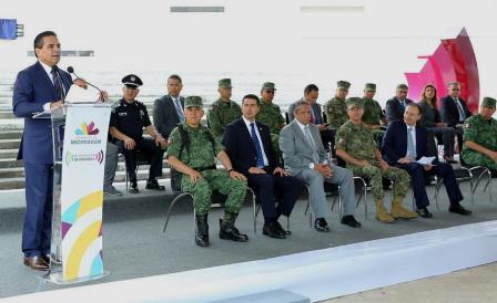 Inaugura Silvano Aureoles el C5I. Noticias en tiempo real