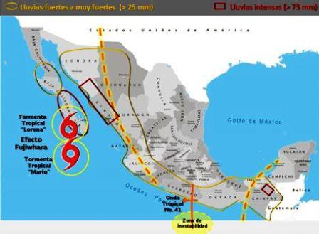 Canal de baja presión en el occidente y centro de México favorecerá lluvias fuertes en Michoacán. Noticias en tiempo real