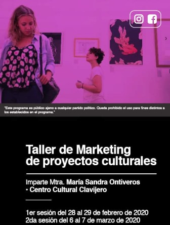 Darán curso de Marketing Cultural en Clavijero