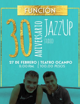 Celebrará Jazz Up Studio 30 años de danza